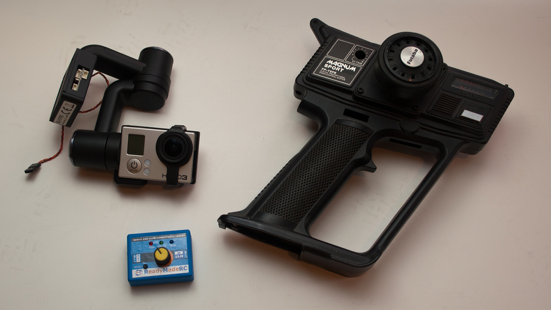 How To Make A Handheld Camera Gimbal Mount Tested Build Simple Servo Tester