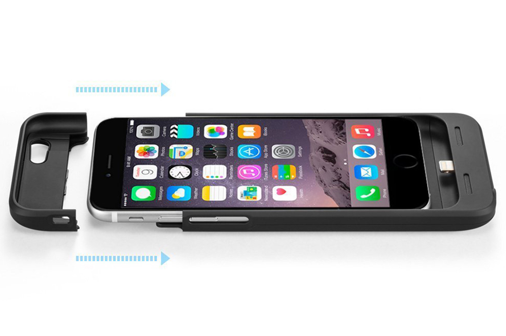6973e1a355dece Our Pick. Anker's Ultra Slim Extended Battery Case is the iPhone 6 ...