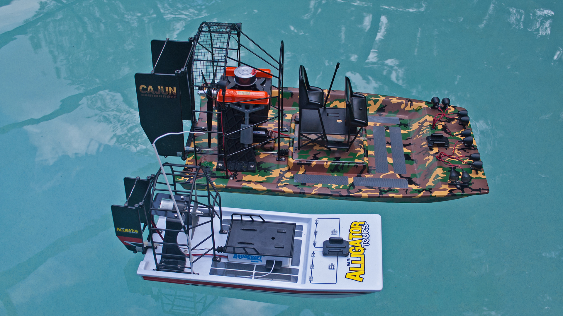 Hobby rc testing the aquacraft cajun commander tested the cajun commander represents a moderate increase in size over the mini alligator tours with a huge uptick in power and performance sciox Image collections