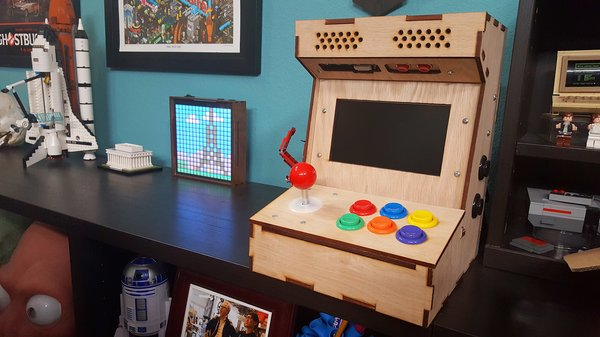 tested builds diy arcade cabinet kit part 1 tested. Black Bedroom Furniture Sets. Home Design Ideas
