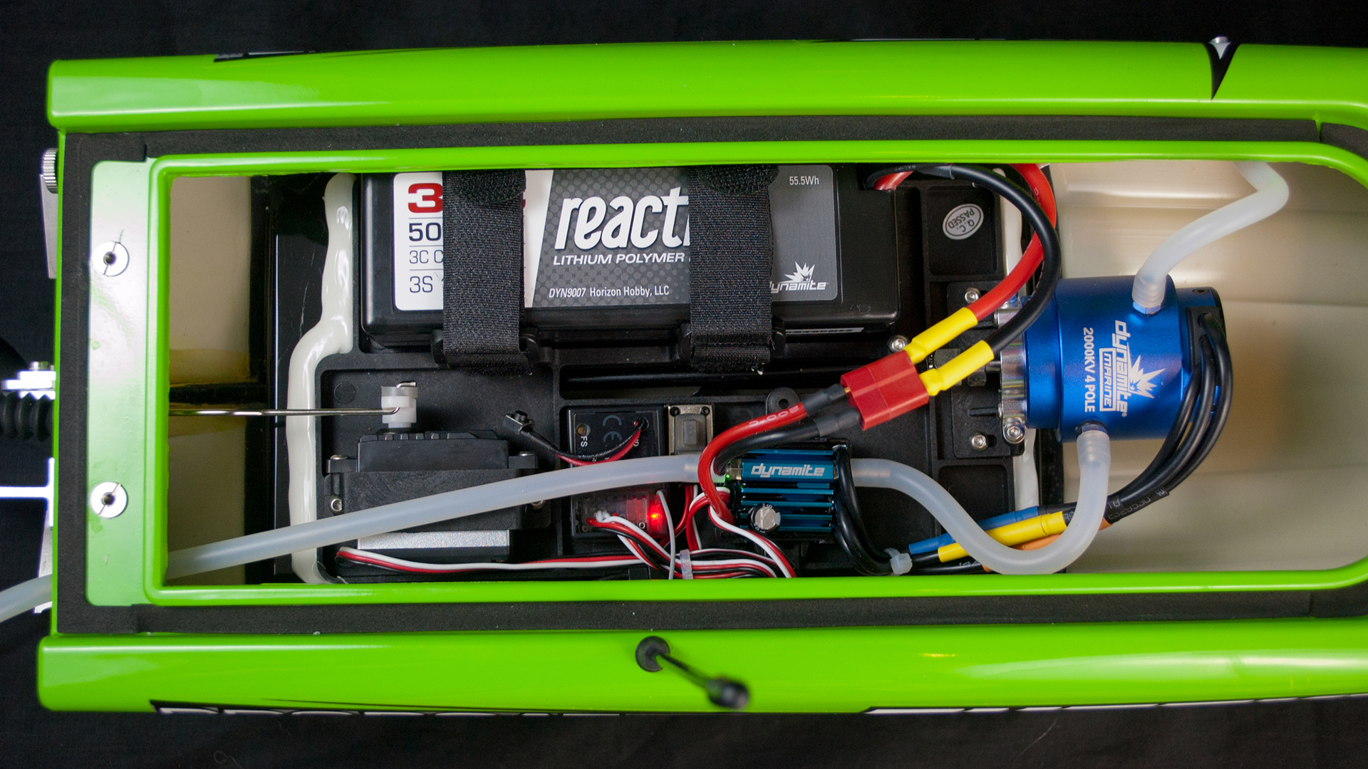 How To Get Into Htesting The Pro Boat Shockwave 26 Tested Wiring A Comes Completely Assembled And Requires Only Lipo Battery Charger This View Illustrates Layout Of Internal Components