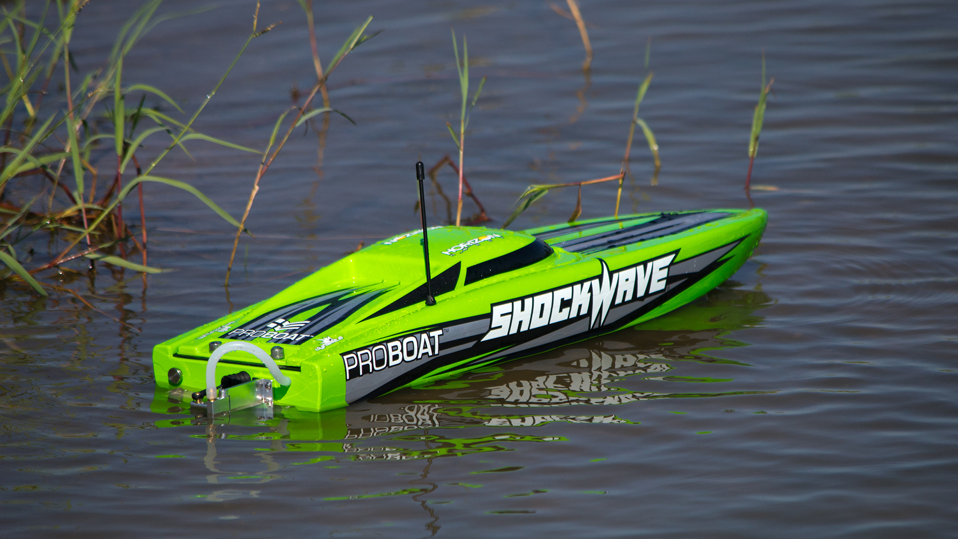 How to get into htesting the pro boat shockwave 26 tested for Green boat and motor