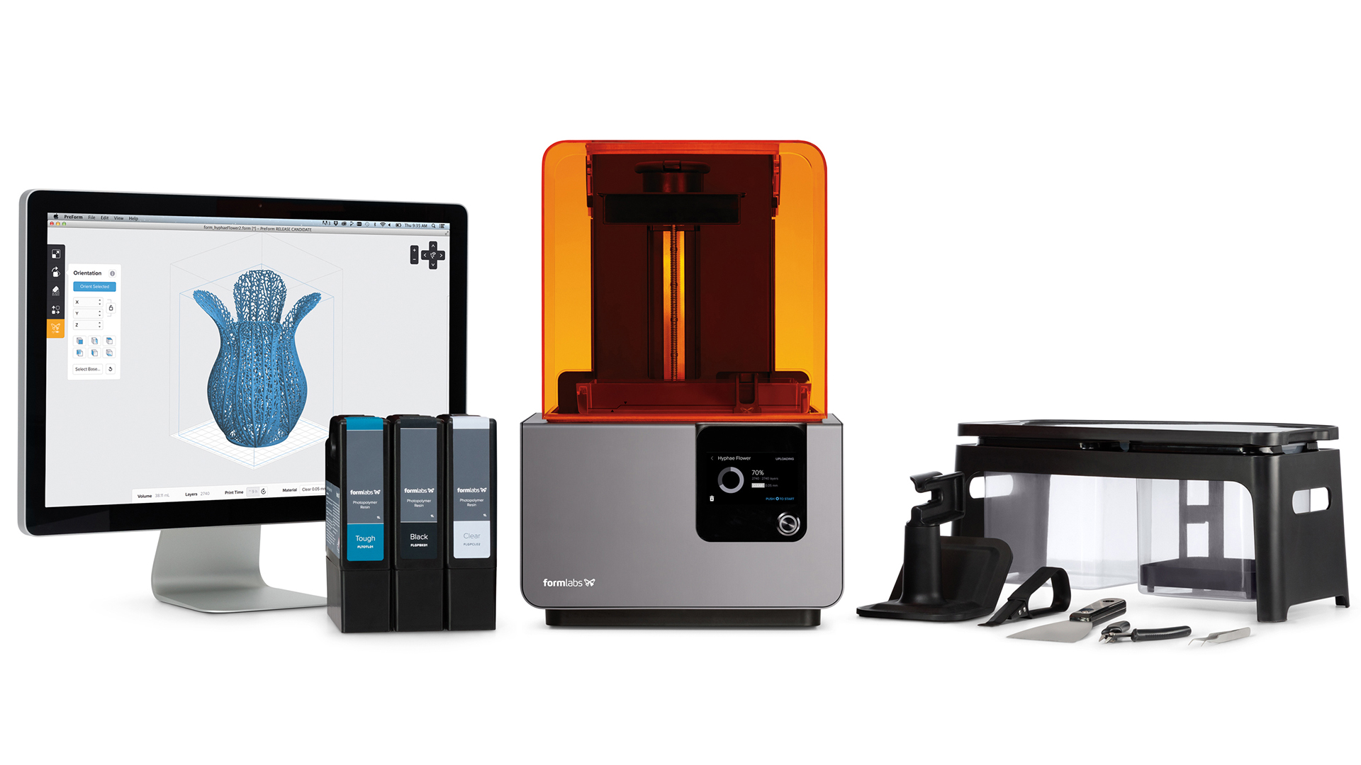 What You Should Know about the Form 2 SLA 3D Printer - Tested