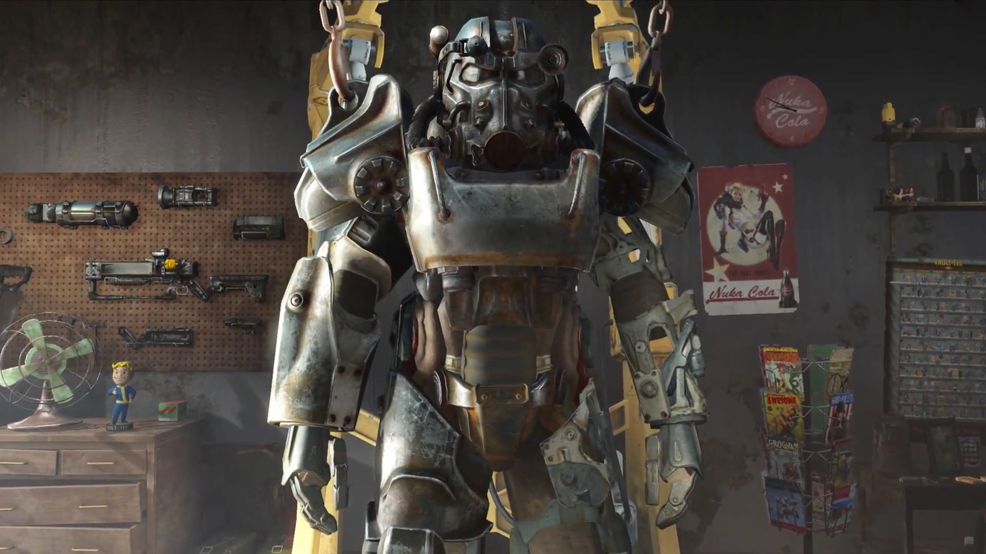 Building Fallout 4 T 60 Power Armor Part 1 Tested