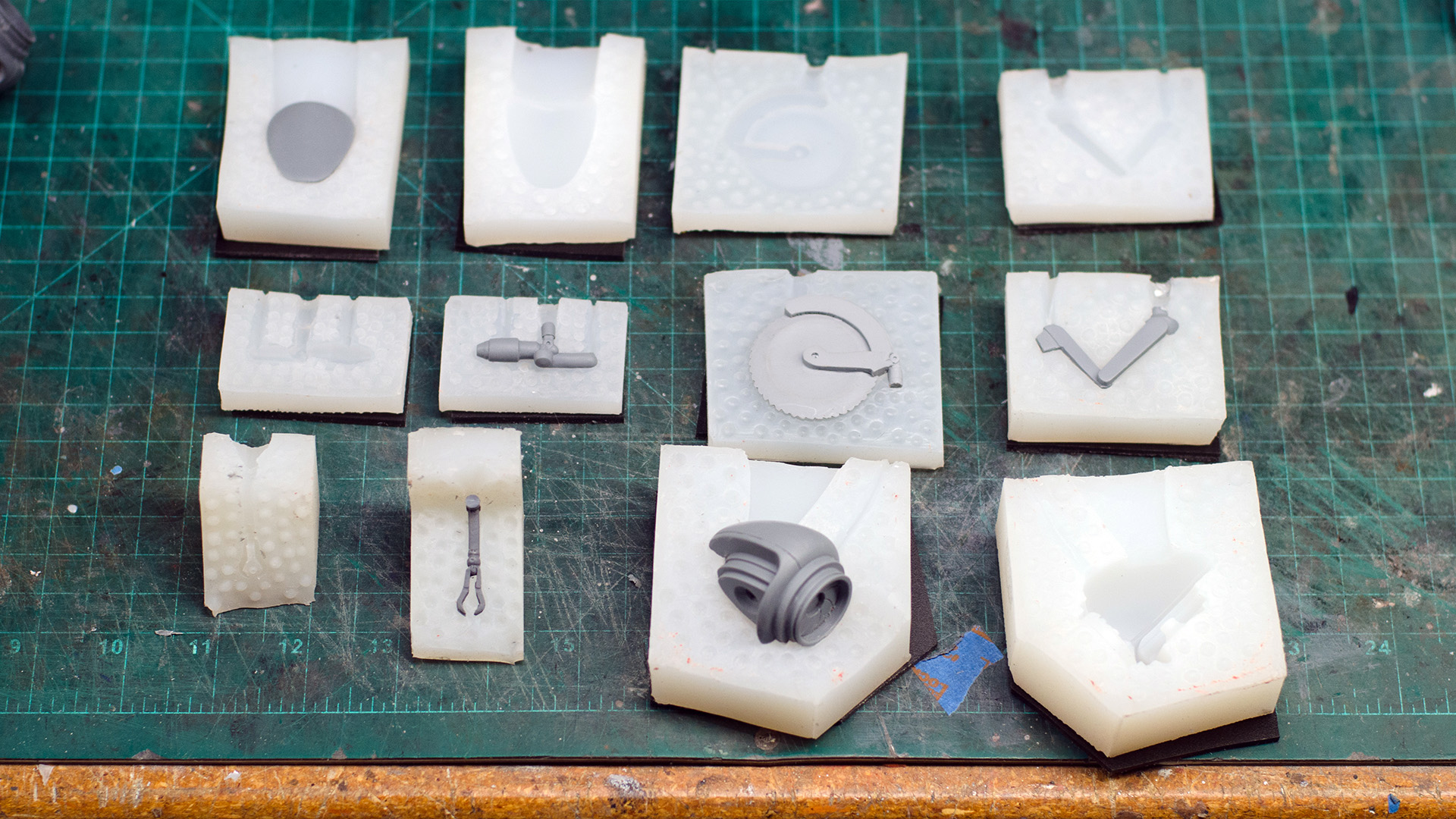 Molding & Casting Tiny Prop Parts - Tested