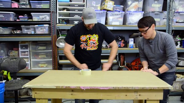 Shop Tips: Covering Your Work Tables - Tested
