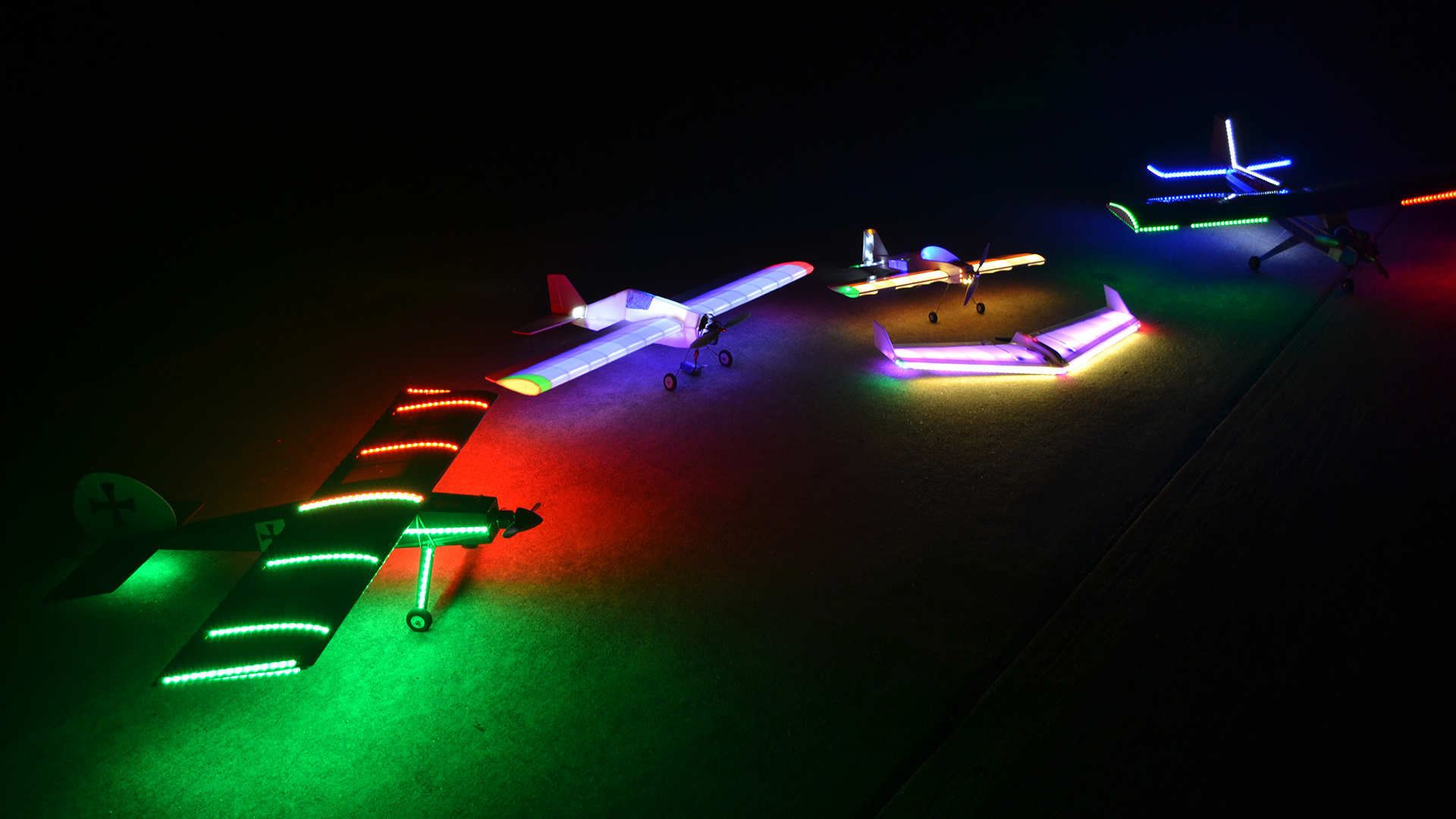 How To Fly RC Models at Night - Tested