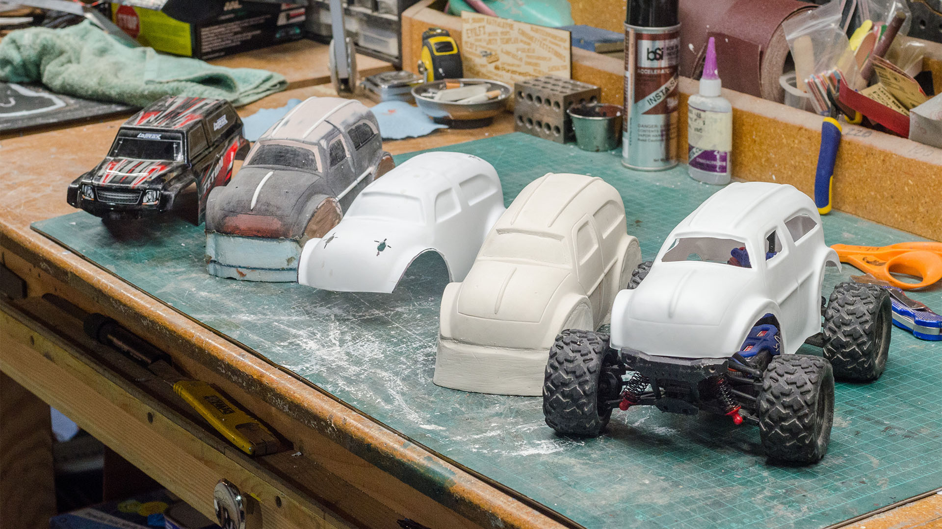Making The Mad Max R C Car Part 1 Building A Custom Body Shell Tested