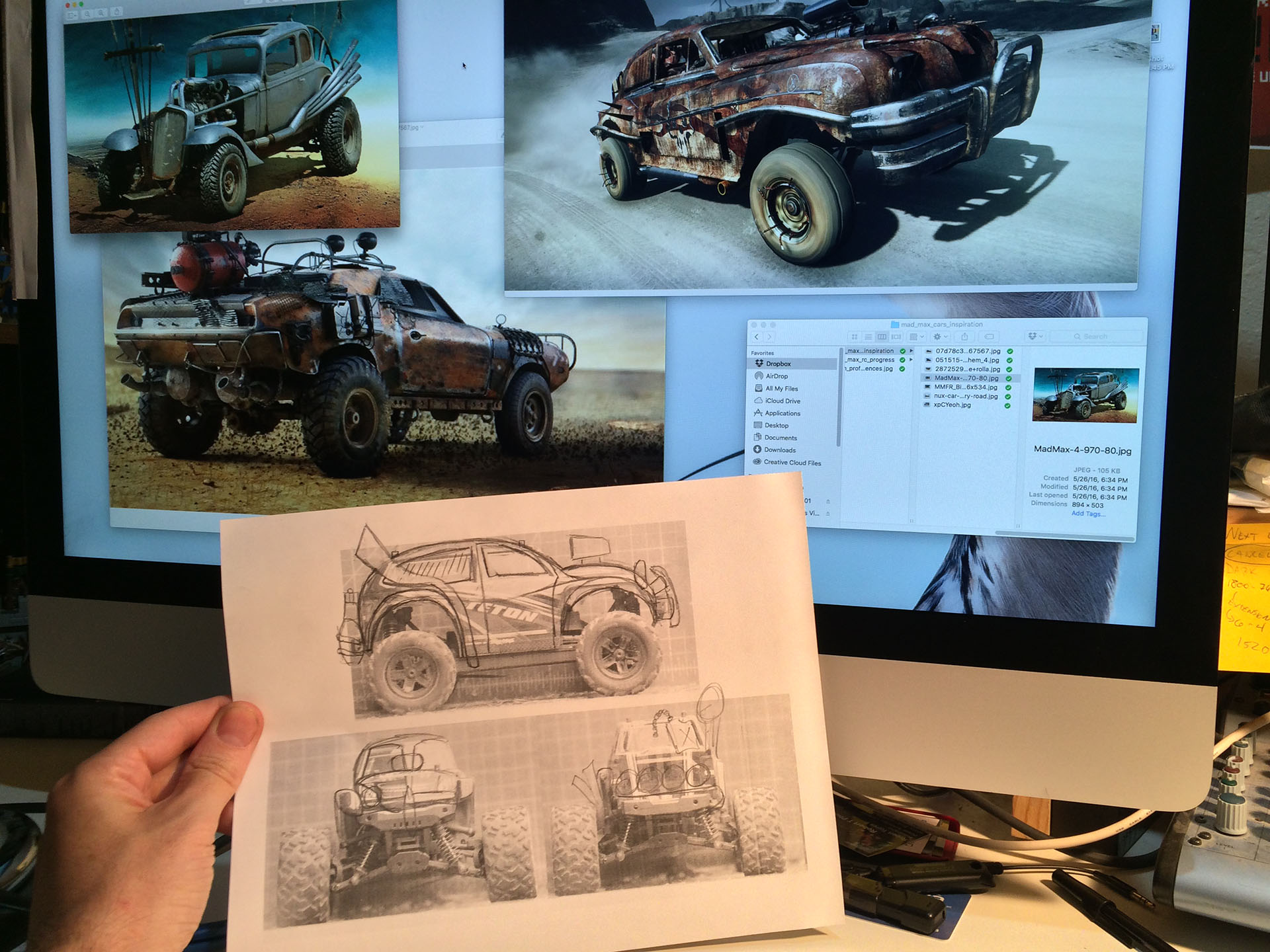 Making the Mad Max R/C Car Part 1: Building a Custom Body Shell - Tested