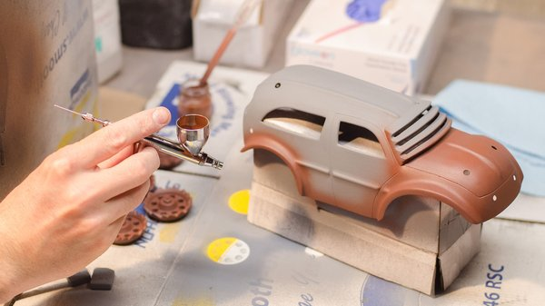 Can You Paint Polyurethane Rc Car