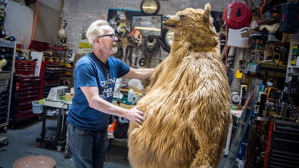& Adam Savageu0027s One Day Builds: Bear Costume! - Tested