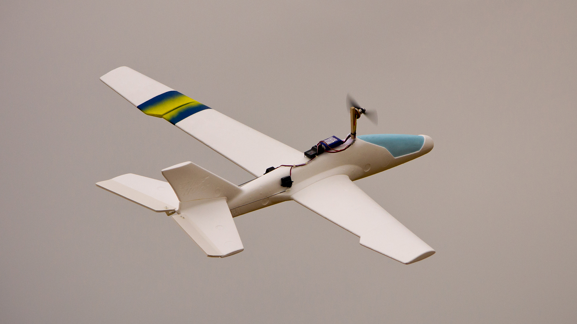 Building A Cheap RC Glider Airplane – Part 3: Adding Power - Tested