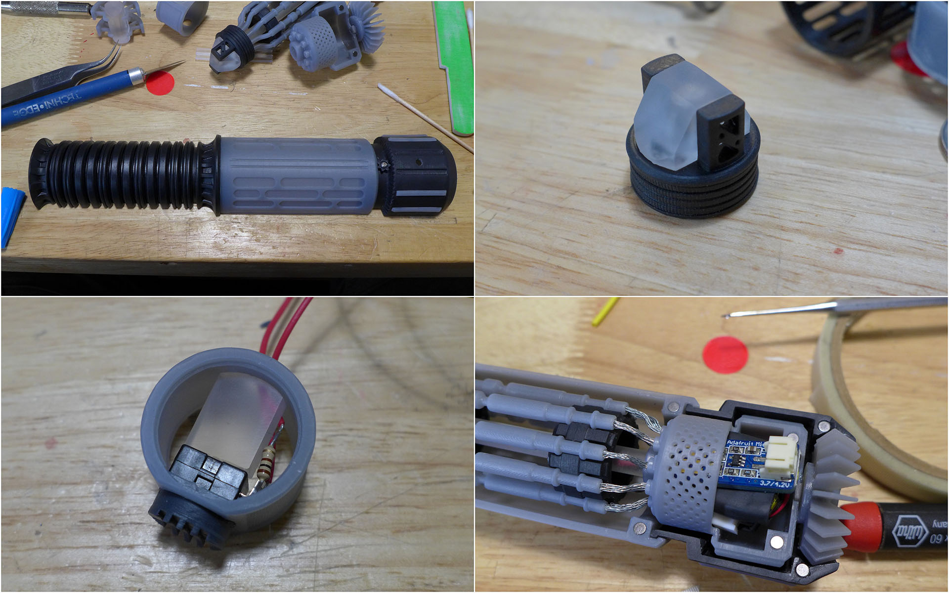 Lightsaber Wiring Mess Trusted Diagram Battery Outlet