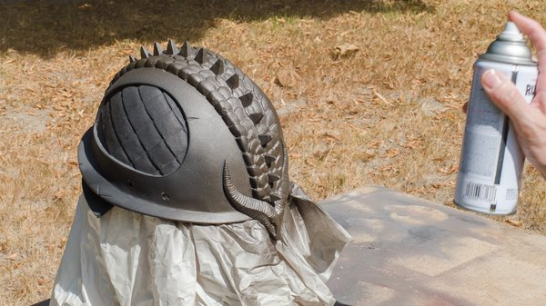 How To Paint A Realistic Rusty Metal Helmet Tested