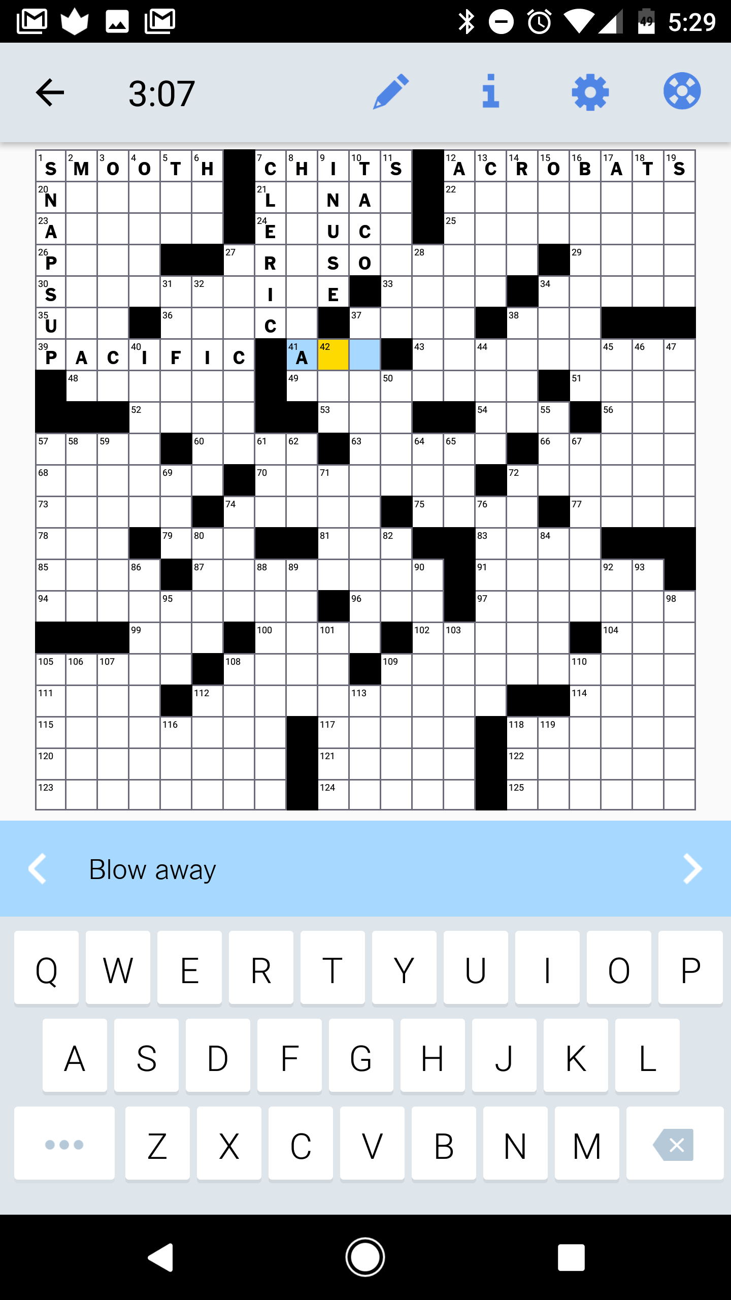 Game with shapes of different colors crossword - I M Not Going To Tell You How To Play A Crossword Puzzle I M Fairly Certain Everyone Gets The Gist Of That What Is Important Is How The Ny Times App
