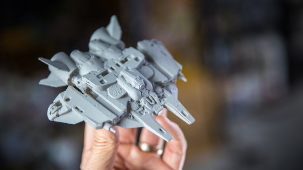 Make Your Own Toys with Digital Kitbashing and 3D Printing
