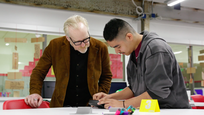 Adam Savage Maker Tour Travis Early College High School