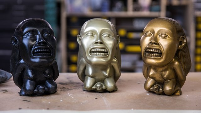 this old fx shop cold casting idols tested