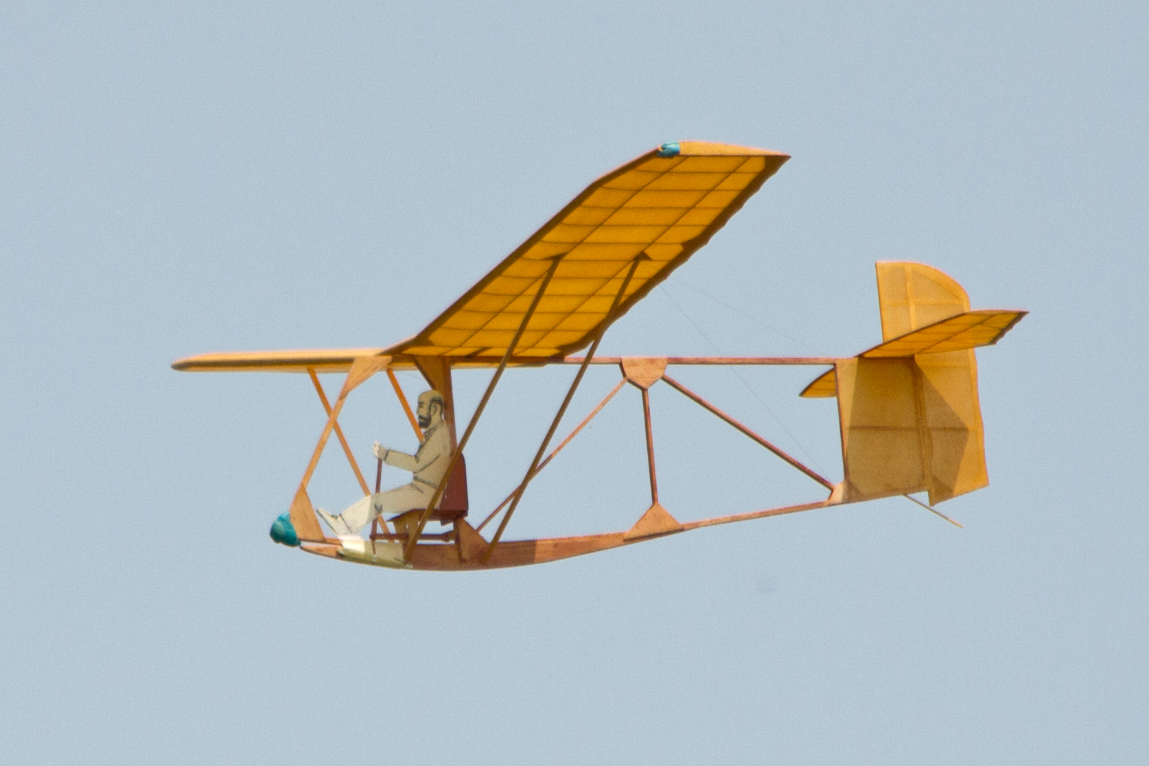free flight rubber powered model airplanes