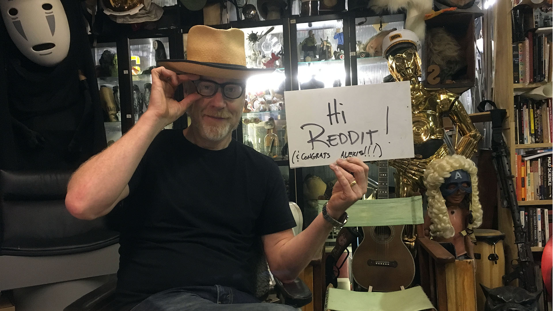 Highlights From Adam Savage S September 2017 Reddit Ama Tested