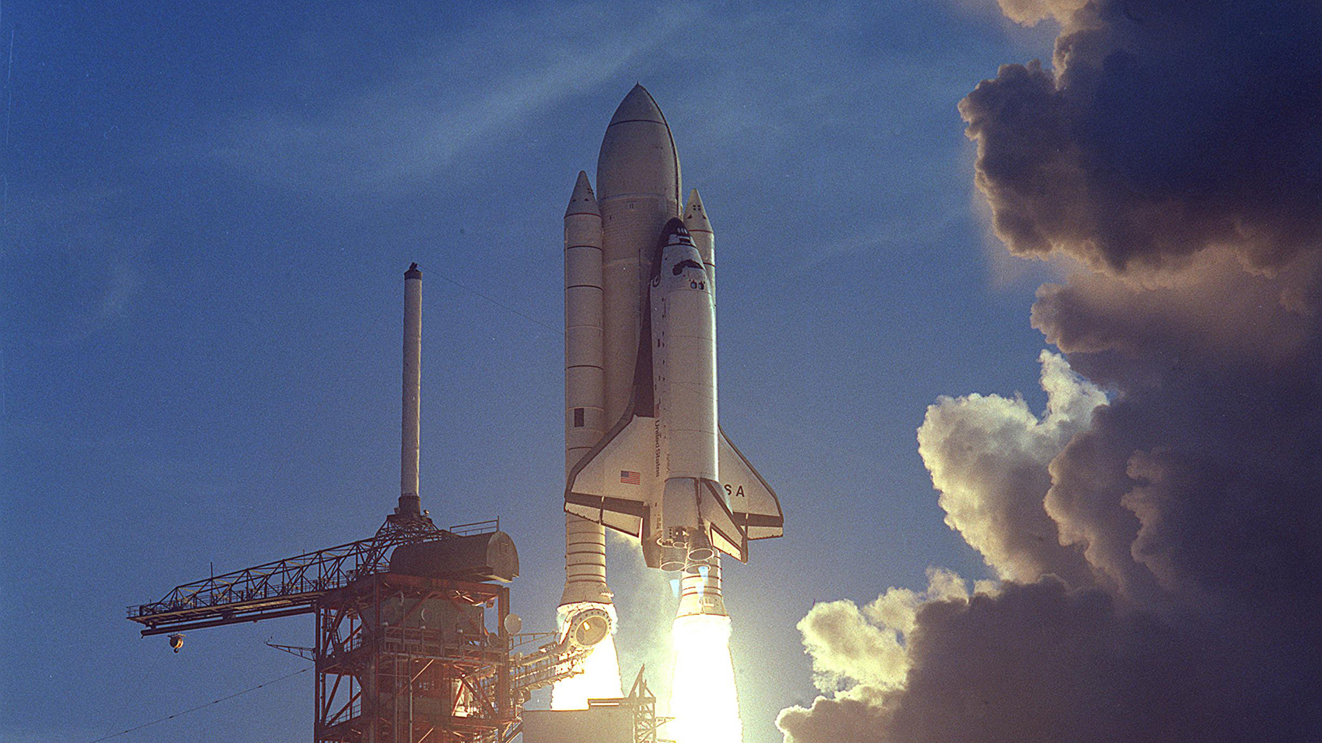 The Space Shuttle's Dicey Inaugural