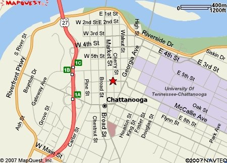 CNC Road map - Tested Chattanooga Tn Map on