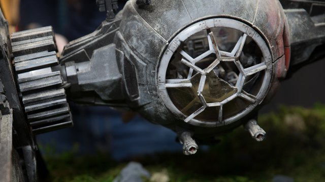 Model Behavior: Making a TIE Fighter Diorama, Part 1 - Tested