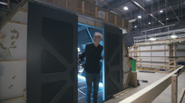 Adam Savage Blast Doors Expanse