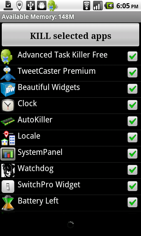android task manager