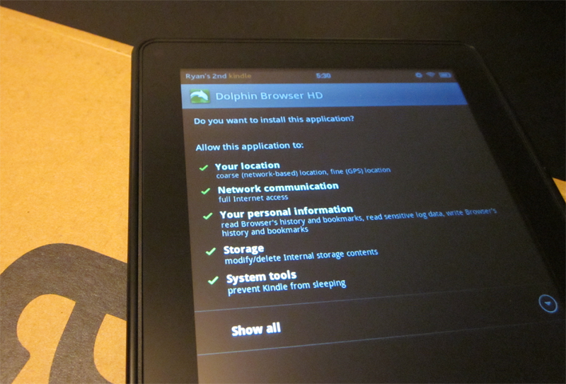 How To Sideload Android Apps on the Amazon Kindle Fire in 3