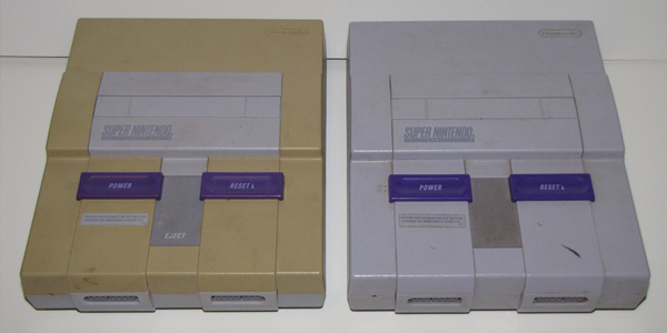 Why Your Old Super Nintendo Looks Super Yellow - Tested