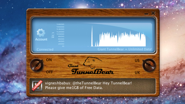 Our Favorite Tech of 2011: TunnelBear VPN - Tested