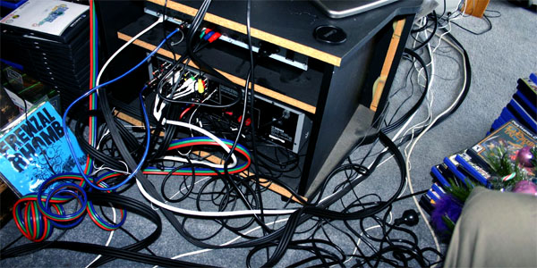 How Dangerous is Your Mess of Tangled Power Cables? - Tested