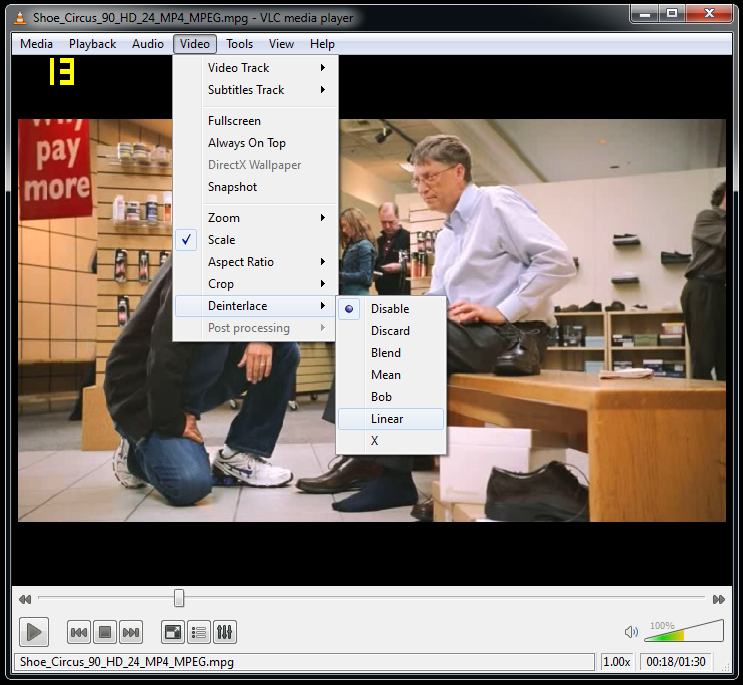 How To Fix Video Interlacing in Your Movie Files On the Fly - Tested