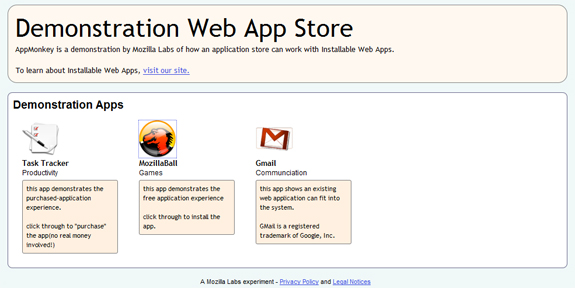 Mozilla's Open Web App Initiative: Cross-Platform Apps for All - Tested