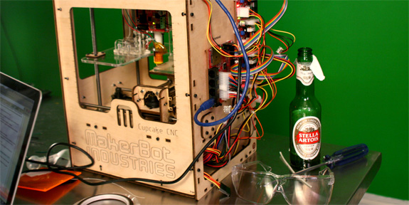 makerbot the way forward The best way forward is to follow the process at how to calibrate your extruder and that makerbot's support page is probably the best place to find information.
