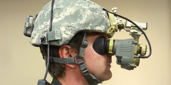 How Next-Gen Military Goggles Augment Thermal Vision [Video
