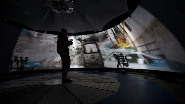British Tech Show Builds A Holodeck For Battlefield 3