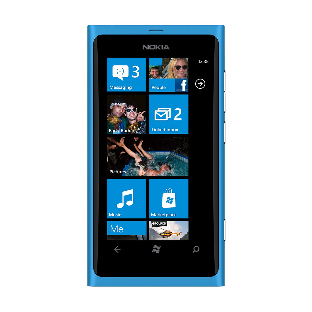 Nokia finally unveils not one but two windows phones the lumia 800 - A New Hope For Windows Phone 7 Nokia S Lumia 800 And 710