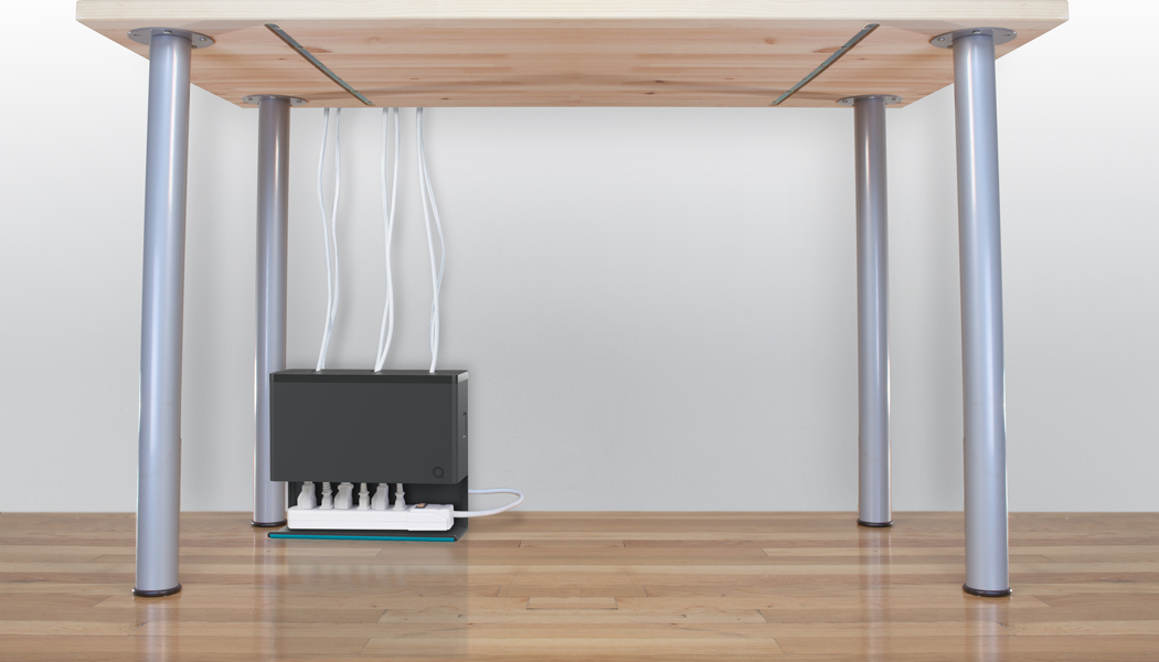Plug Hub Simplifies Under-Desk Power Cable Management - Tested