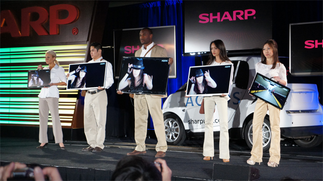 CES 2012: Sharp Aquos Freestyle TVs are Light Enough to Warrant