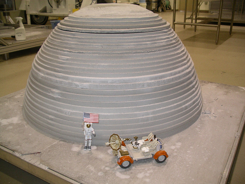 Research project explores potential of 3d printed lunar for 3d printer house for sale