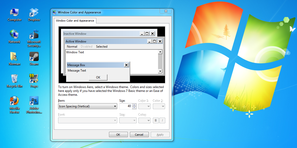 Clever Windows 7 Tip Micromanage Your Desktop Icons Tested