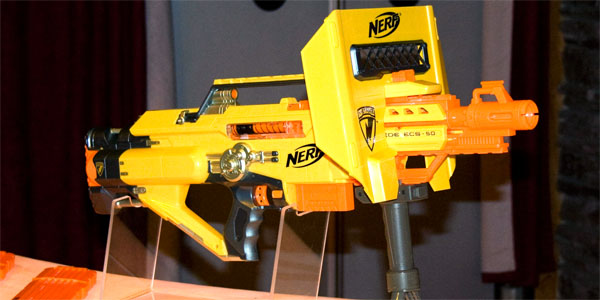 Next Gen Nerf Pomp And Firepower With The Stampede Tested